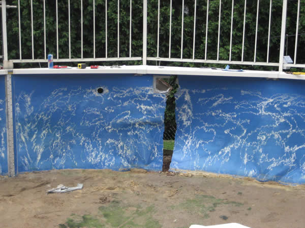 Above Ground Swimming Pool Wall Fabrication