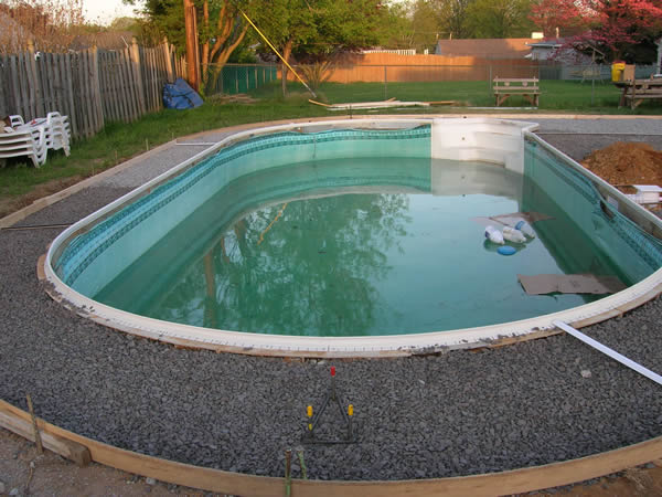 Building and concrete above water pools llc - Custom above ground pool ...