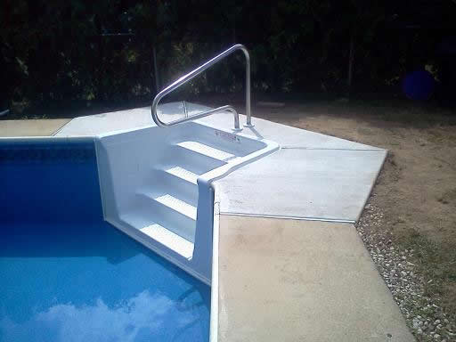 Building and concrete above water pools llc - Steps to build an inground swimming pool ...