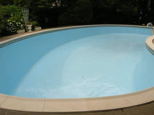 Inground Swimming Pool Epoxy Paint