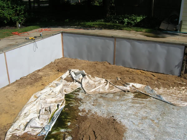 Inground Swimming Pool Rebuild and Liner