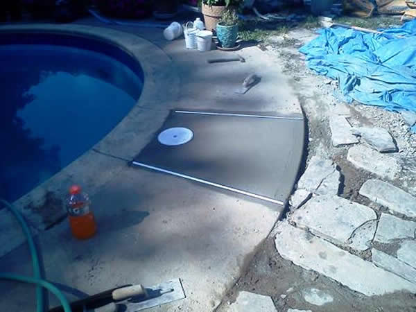 Inground Swimming Pool Skimmer Replacement