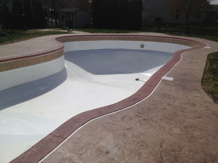 Inground swimming pools above water pools llc for In ground pool coping ideas