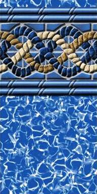 Above Ground Swimming Pool MystriBraid1 Vinyl Liner