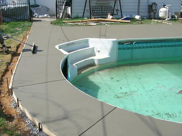 Concrete Perimeter And Patio Decks