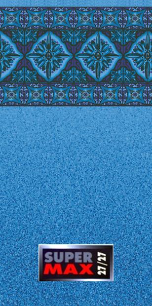 Inground Swimming Pool Liner Pattern Dynasty Blue Granite