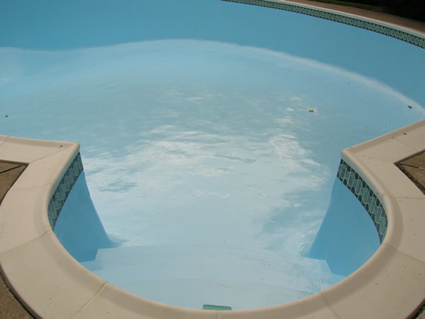 Inground Swimming Pool Epoxy Paint