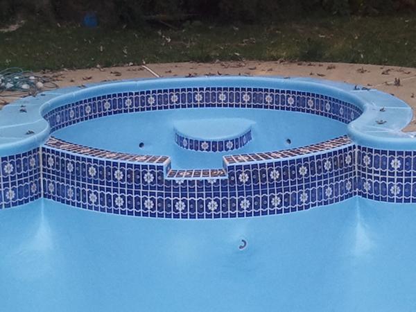 Inground Swimming Pool Paint Resurfacing