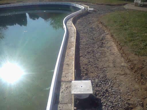 Inground Swimming Pool Perimeter Seal
