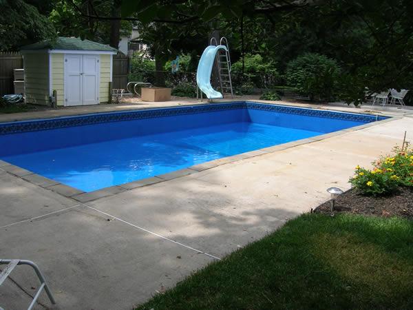 Inground Swimming Pool Rebuild and Liner