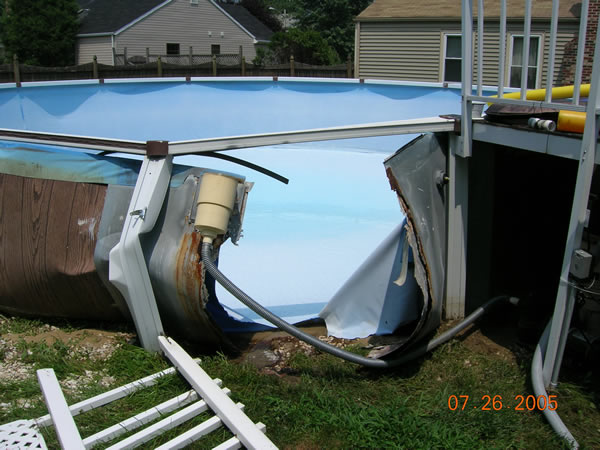 Above Ground Swimming Pool Insurance Claims